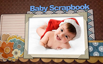 Baby Scrapbook and Memory Book