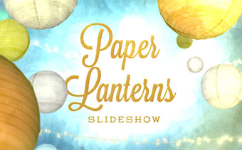 Paper Lanterns Slideshow