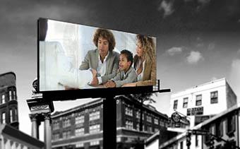 Promotion de panneau d'affichage