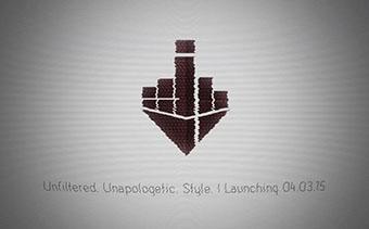 Пиксельное искажение Логотипа