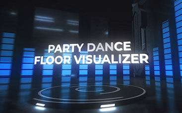 Party Dance Floor Visualizer