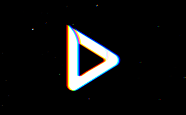 Animation de logo Glitch rapide