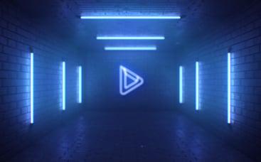 Neon Underground Logo Reveal
