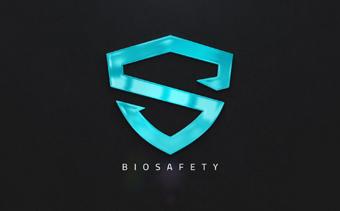 Sauberes, mehrschichtige Logo-Reveal