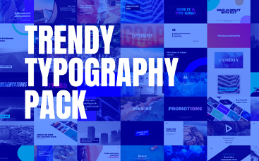 Trendy Typography Pack