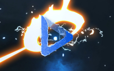 Lightning Strike Logo Reveal