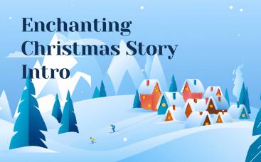 Intro du conte de Noël charmant