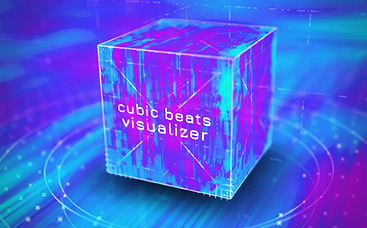 Cubic Beats Visualizer