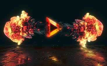Epic Explosion Logo Reveal
