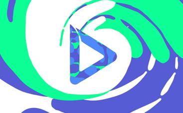 Playful Liquid Splash Logo