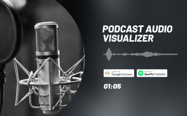 Podcast Audiovisualisierung