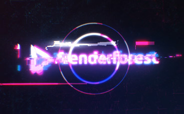 Animation de logo rapide en glitch