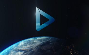 Sci-Fi-Erde-Logo Reveal