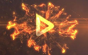شعار النيران الضاربة