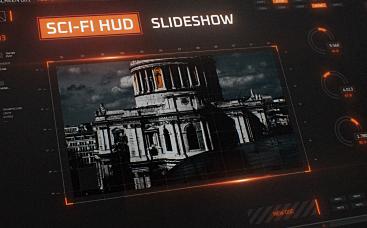 Sci-Fi HUD Slideshow