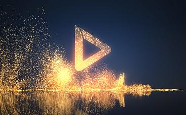 Glitterdust Logo Reveal
