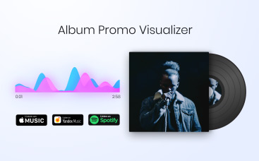 Album-Promo-Visualisierer