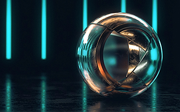 Futuristic Sphere Logo