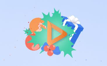 Jolly Xmas Logo Reveal