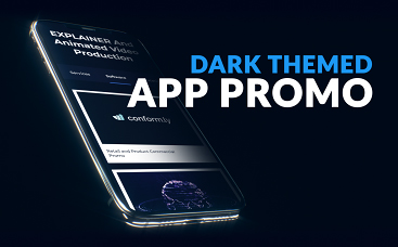 Dark Themed App Promo