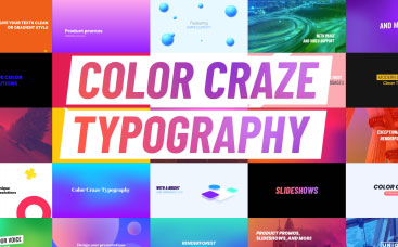 Color Craze Typography