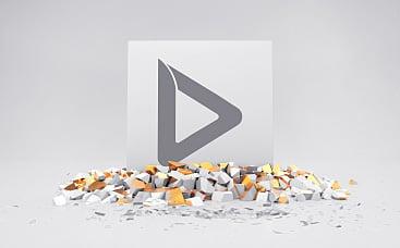 Animation de logo - Lingot fracassant