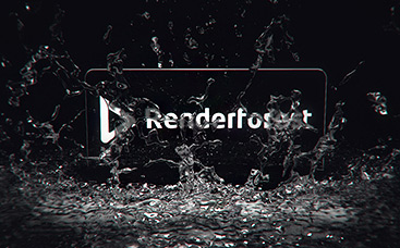 Slow-Motion Splash Logo