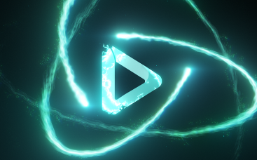 Colliding Particles Logo Reveal