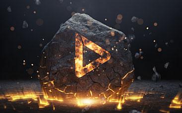 Smashing Stone Logo