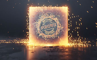 Animation de Logo Cube Flamboyant