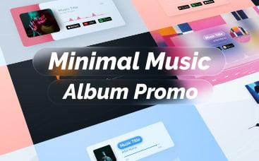 Promoção Álbum de Música Minimalista