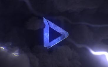 Stormy Night Sky Logo