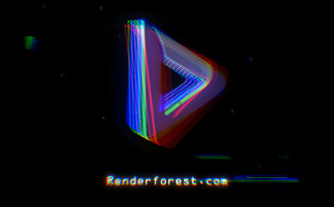 Cyber Glitch Logo