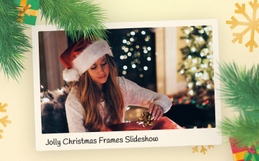 Jolly Christmas Frames Slideshow