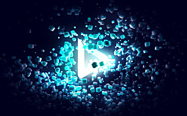 Cubic Particles Logo Reveal