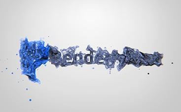 شعار الجسيمات السائلة