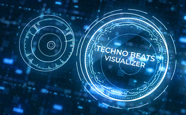 Techno Beats Visualizer
