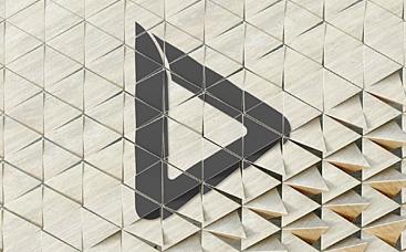 3D Mosaic Logo Reveal