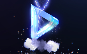 High-Voltage Lightning Logo