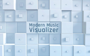 Modern Music Visualizer