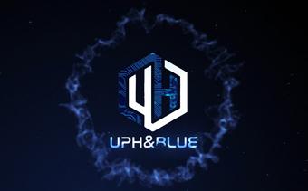 Анимация лого Столкновение частиц