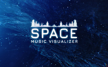 Infinite Space Music Visualizer