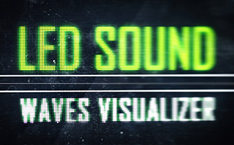 LED Sound Waves Visualizer