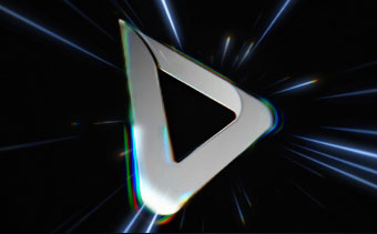 光速のロゴ動画