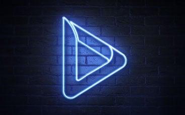 Neon Signboard Logo Reveal
