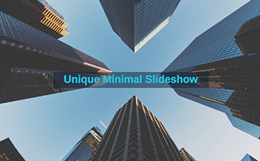 Unique Minimal Slideshow