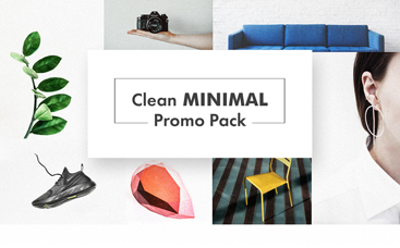 Clean Minimal Promo Pack
