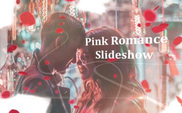 Diaporama romantique avec roses
