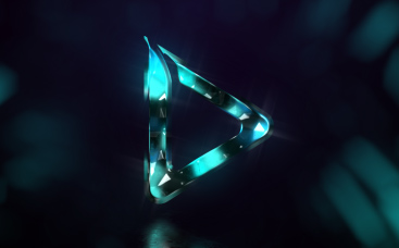 Colorful Crystal Logo Reveal