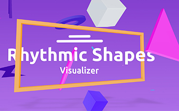 Rhythmic Shapes Visualizer
